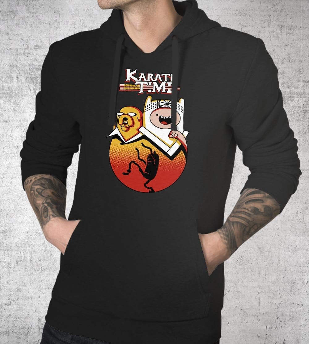Karate Time Hoodies by Olipop - Pixel Empire