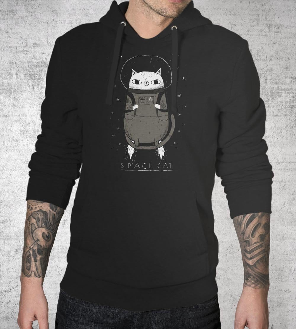 Space Cat Hoodies by Louis Roskosch - Pixel Empire