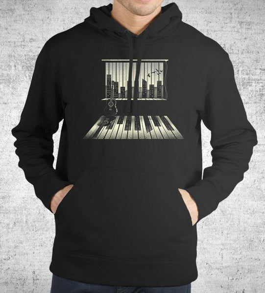 Music is Life Hoodies by Dan Elijah Fajardo - Pixel Empire