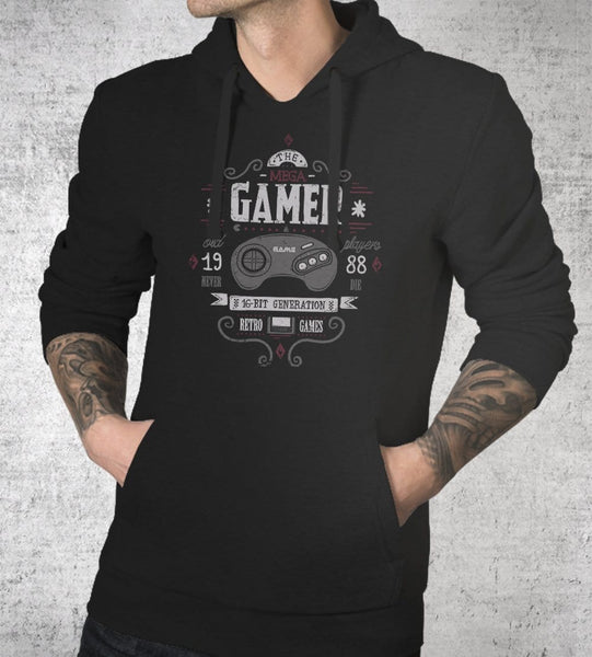 Mega Gamer Hoodies by Typhoonic - Pixel Empire