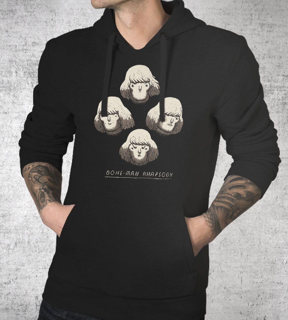 Bohe-man Rhapsody Hoodies by Louis Roskosch - Pixel Empire