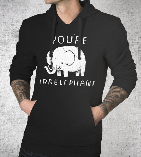 Irrelephant Hoodies by Louis Roskosch - Pixel Empire