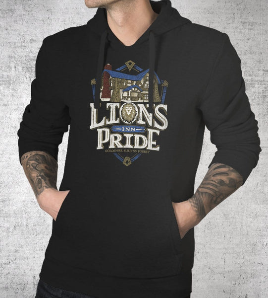 Lion's Pride Inn Hoodies by Cory Freeman Design - Pixel Empire