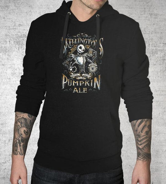 Skellington's Pumpkin Ale Hoodies by Barrett Biggers - Pixel Empire