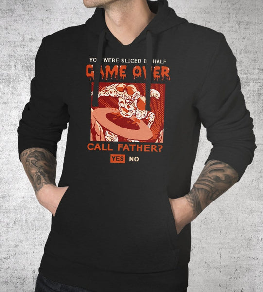 Game Over Frieza Hoodies by Cod Designs - Pixel Empire