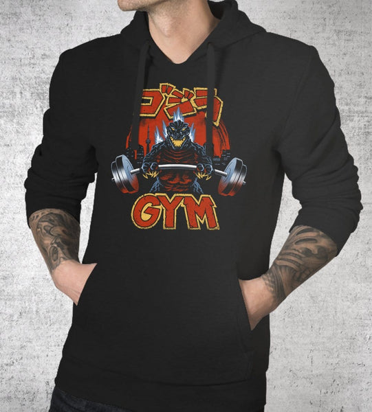 Zilla Gym Hoodies by Vincent Trinidad - Pixel Empire
