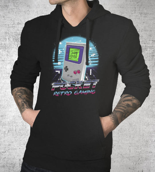 Pocket Retro Gaming Hoodies by Vincent Trinidad - Pixel Empire