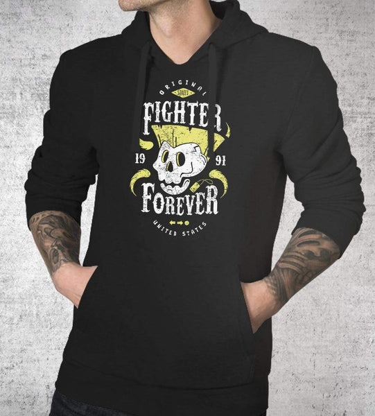 Fighter Guile Forever Hoodies by Olipop - Pixel Empire