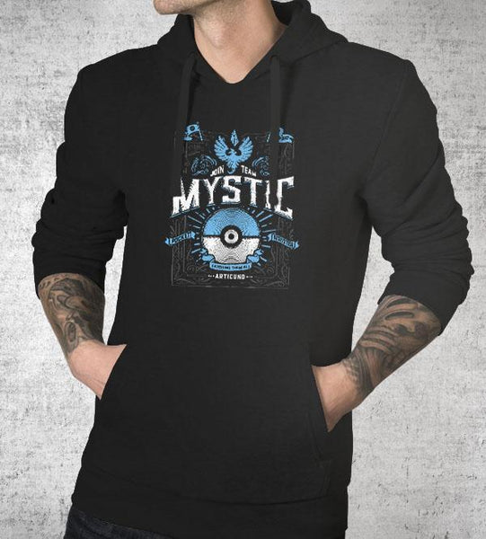 Team Mystic Hoodies by Barrett Biggers - Pixel Empire