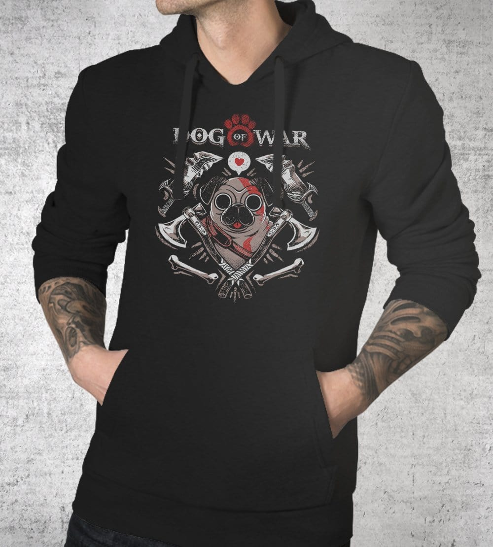 Dog Of War Hoodies by Ilustrata - Pixel Empire