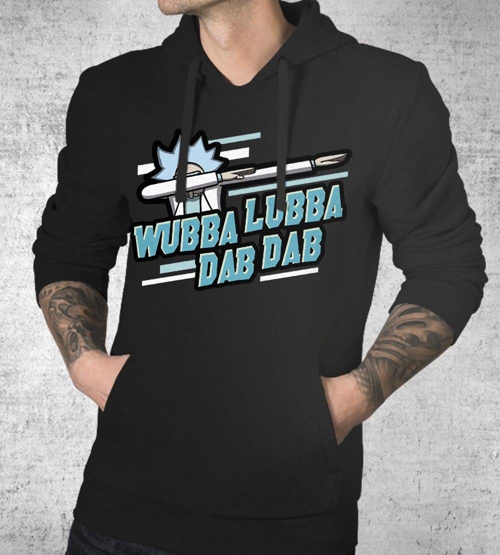 Wubba Lubba Dab Dab Hoodies by Olipop - Pixel Empire