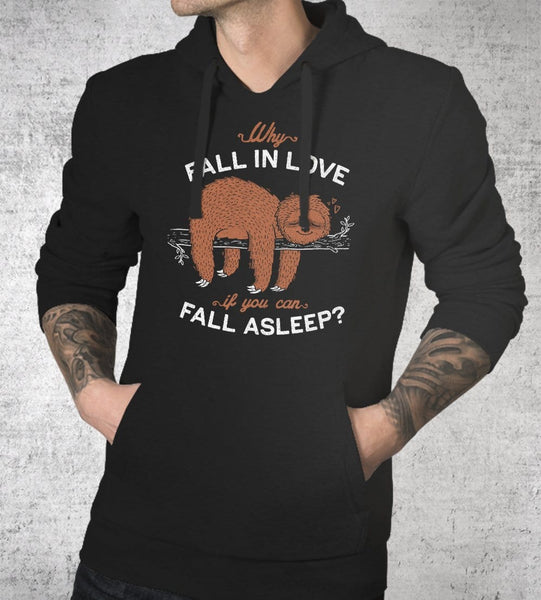 Fall Asleep Hoodies by Eduardo Ely - Pixel Empire