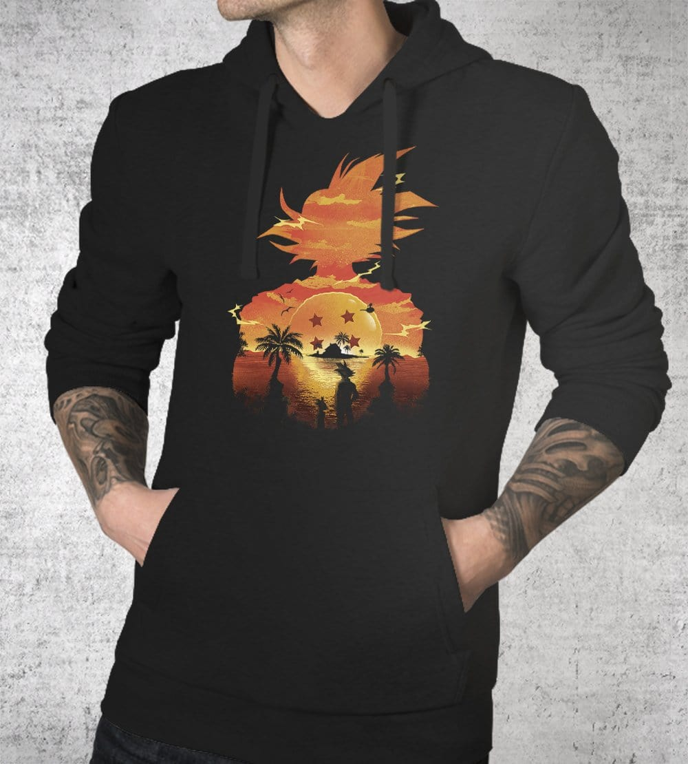 Beautiful Sunset Hoodies by Dan Elijah Fajardo - Pixel Empire