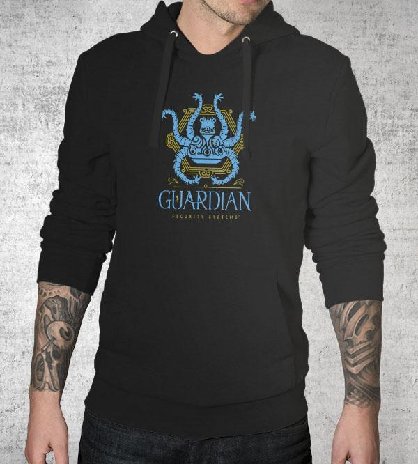 Guardian Security Systems Hoodies by Barrett Biggers - Pixel Empire