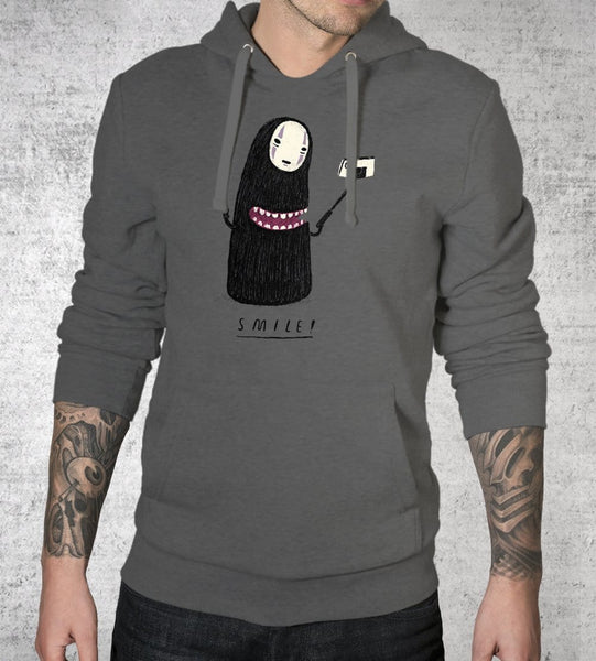 Smile No Face Hoodies by Louis Roskosch - Pixel Empire