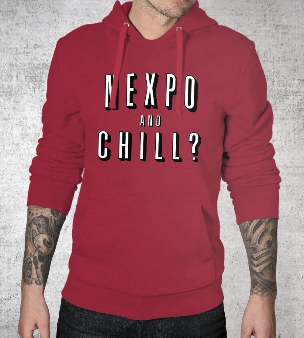 Nexpo And Chill Hoodies by Nexpo - Pixel Empire