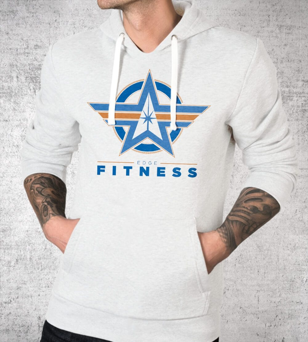 Edge Fitness Logo Hoodies by Edge Fitness - Pixel Empire