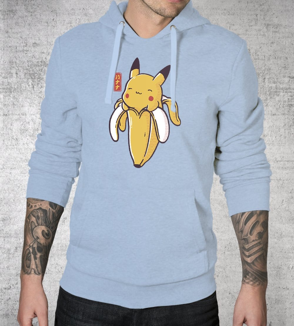 Bananachu Hoodies by Eduardo Ely - Pixel Empire