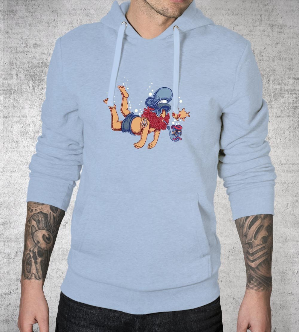 Diver Hoodies by Copenhagen Poster - Pixel Empire