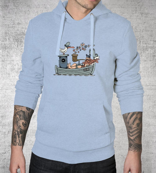 Butterfly Ship Hoodies by Copenhagen Poster - Pixel Empire