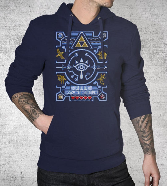 Ugly Sheikah Sweater Hoodies by Punksthetic - Pixel Empire
