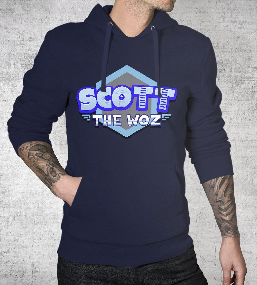 Scott The Woz Logo Hoodies by Scott The Woz - Pixel Empire