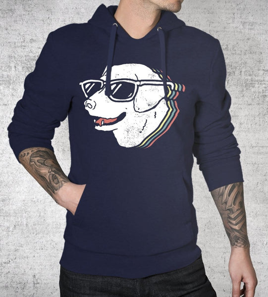 Too Cool For Drool Hoodies by Ronan Lynam - Pixel Empire