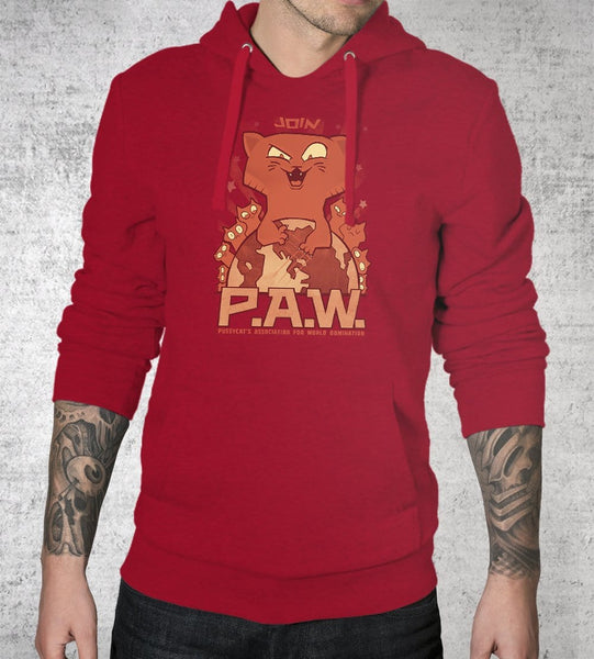P.a.w. Hoodies by Anna-Maria Jung - Pixel Empire