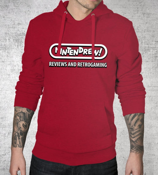 Nintendrew Logo 2 Hoodies by Nintendrew - Pixel Empire