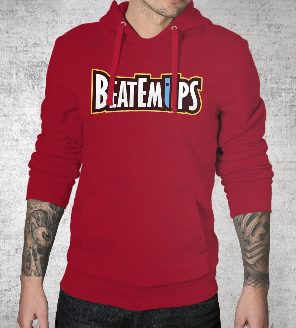 Beatemups Logo Hoodies by Beatemups - Pixel Empire