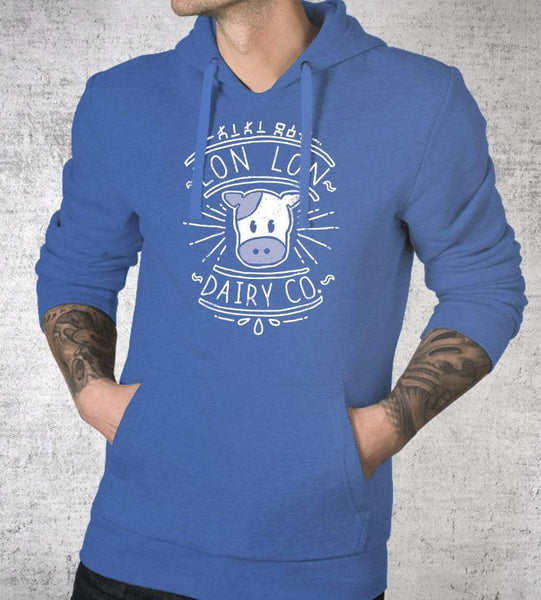 Lon Lon Dairy Co Hoodies by Ronan Lynam - Pixel Empire