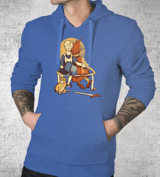 Sunset In Ooo Hoodies by Creative Outpouring - Pixel Empire