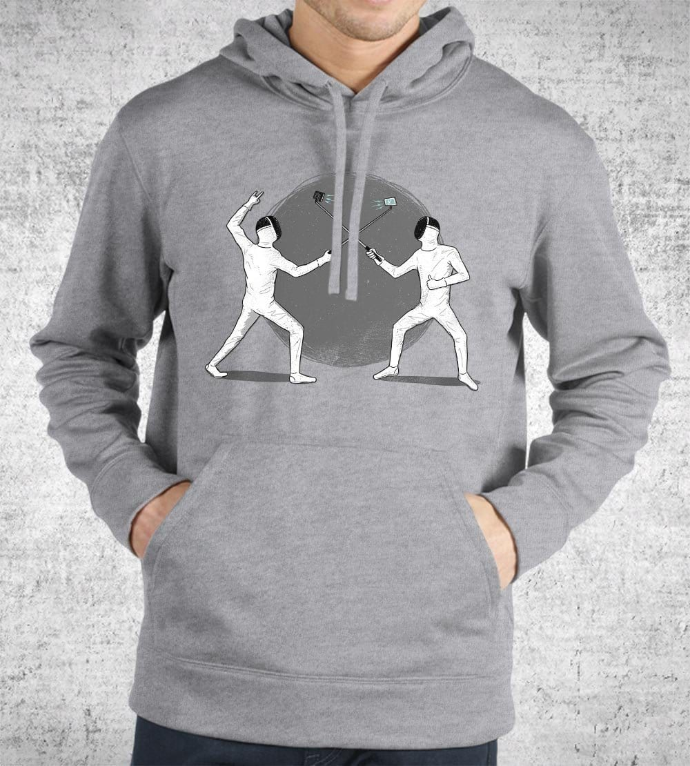 Battle of the Egos Hoodies by Grant Shepley - Pixel Empire