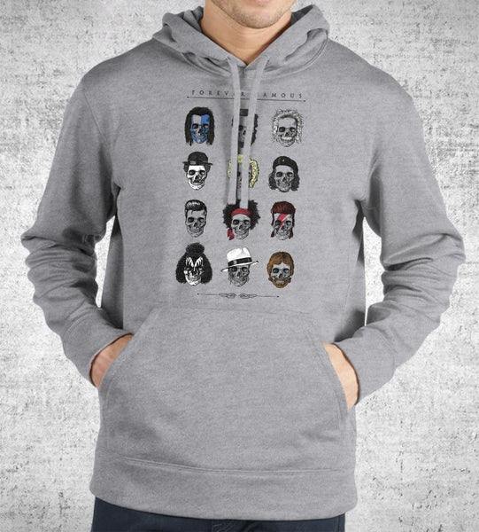 Forever Famous Hoodies by Grant Shepley - Pixel Empire