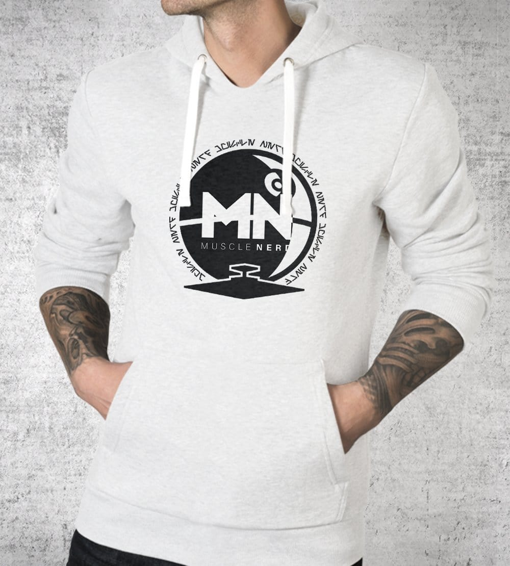 Galactic Empire Muscle Nerd Hoodies by Muscle Nerd - Pixel Empire