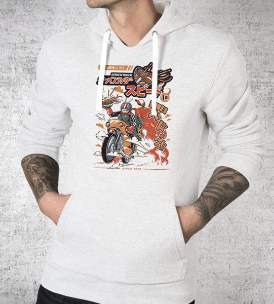 Ramen Riders Hoodies by Ilustrata - Pixel Empire