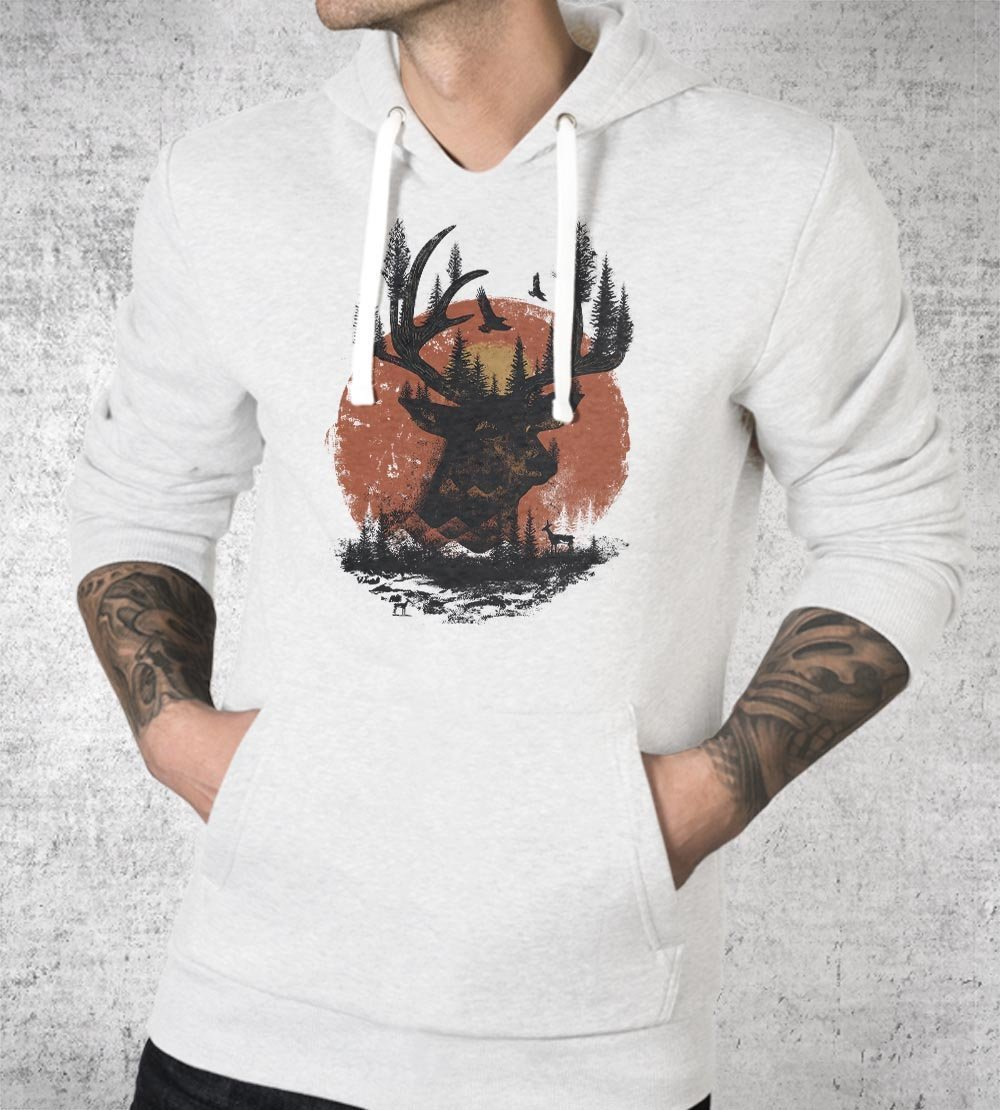Look Deep Into Nature Hoodies by Dan Elijah Fajardo - Pixel Empire