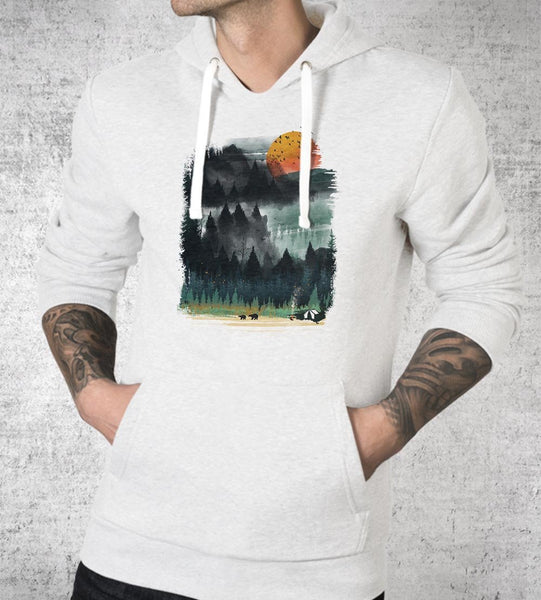 Wilderness Camp Hoodies by Dan Elijah Fajardo - Pixel Empire