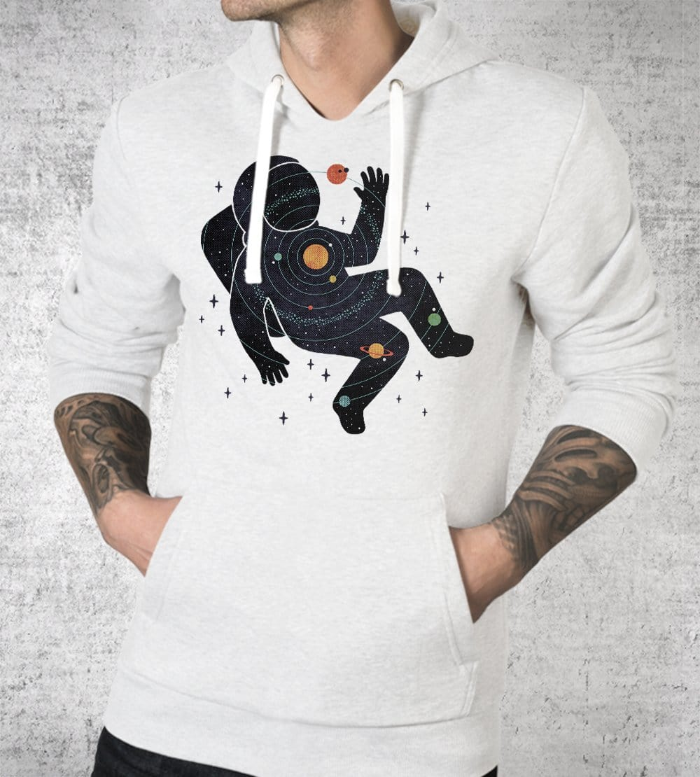 Inner Space Hoodies by Rick Crane - Pixel Empire