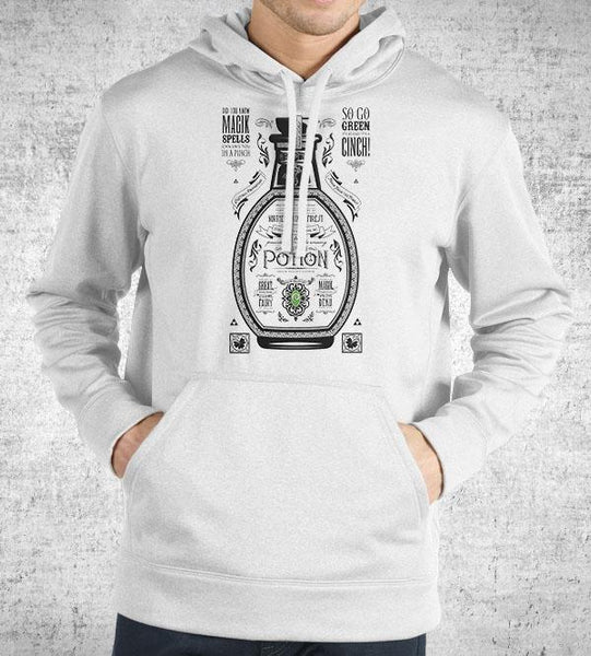 Green Potion Hoodies by Barrett Biggers - Pixel Empire