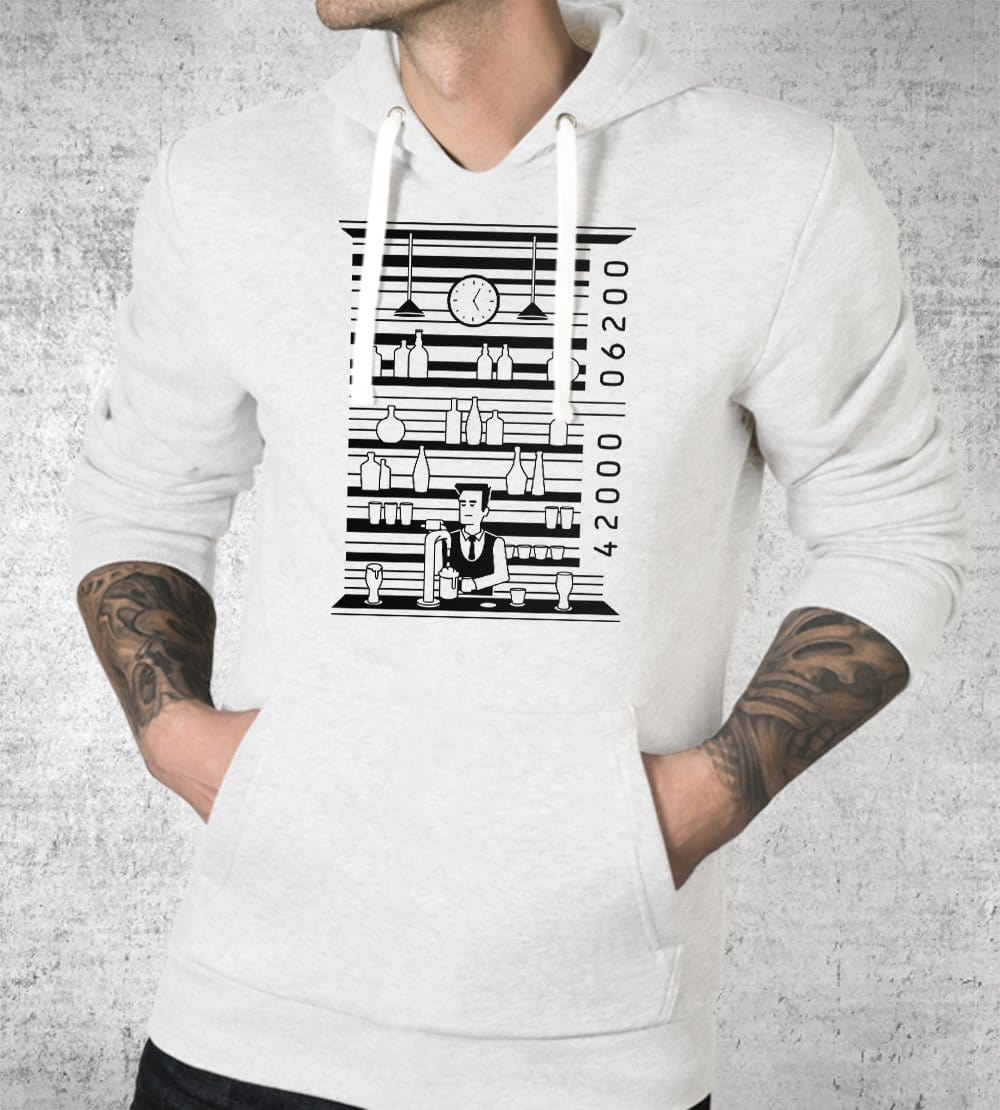 Bar Code Hoodies by Grant Shepley - Pixel Empire