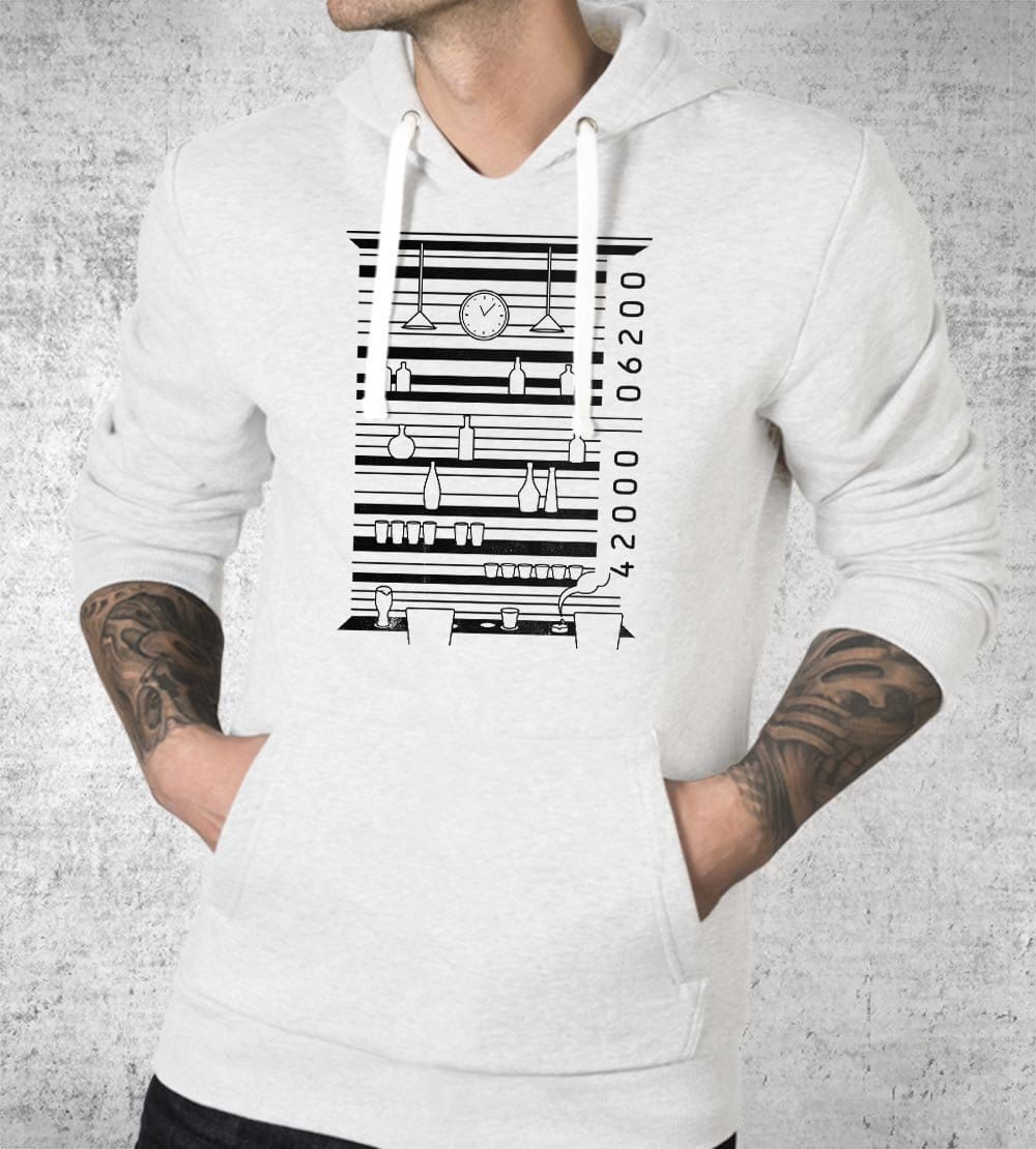 Barcode Hoodies by Grant Shepley - Pixel Empire