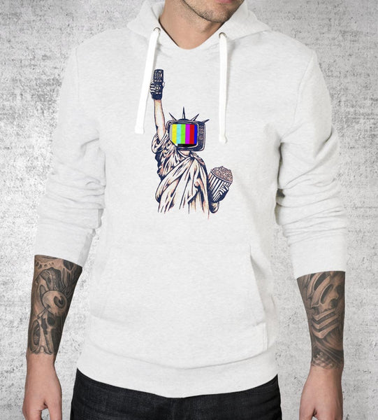 Liberty Time Hoodies by Daniel Teres - Pixel Empire