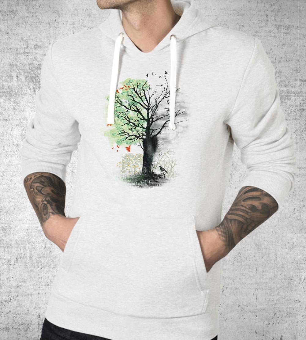 They Loved the Landscape to Death Hoodies by Dan Elijah Fajardo - Pixel Empire