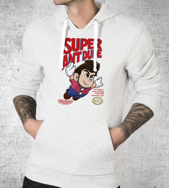 Super AntDude Hoodies by AntDude - Pixel Empire