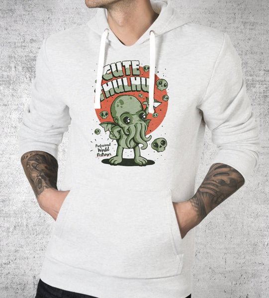 Cutethulhu! Hoodies by Ilustrata - Pixel Empire