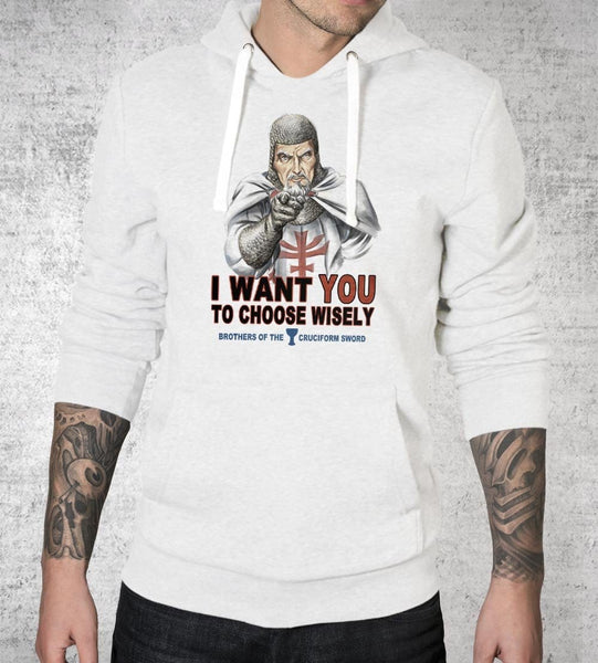 Choose Wisely Hoodies by Saqman - Pixel Empire