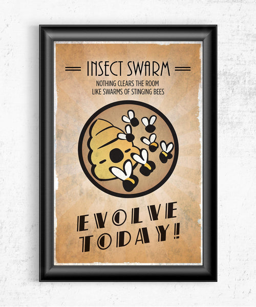 Bioshock Plasmid Insect Swarm Posters by The Pixel Empire - Pixel Empire