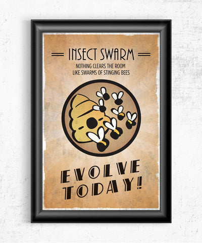 Bioshock Plasmid Insect Swarm Posters- The Pixel Empire