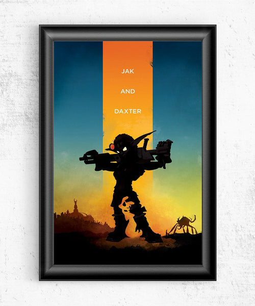 Jak & Daxter Posters- The Pixel Empire